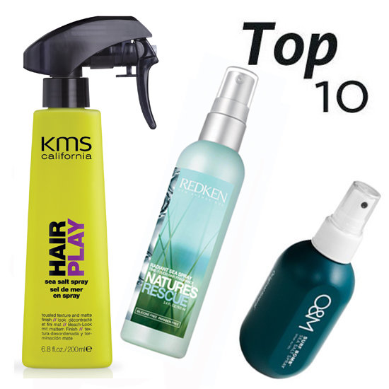 10 of the Best: Sea Salt Sprays For Sexy Beach Waves