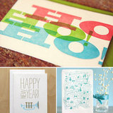 Wishing You a Happy Everything: 13 Letterpress Holiday Cards