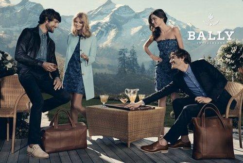 Bally Spring 2012 Ad Campaign