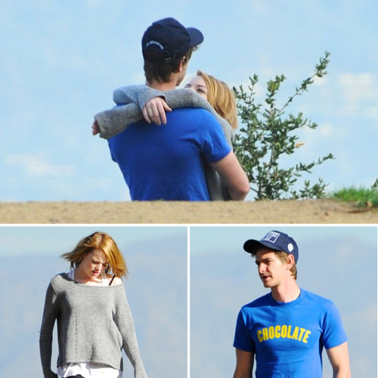 Emma Stone and Andrew Garfield Take a Romantic Hike