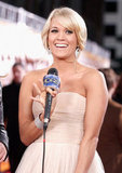 Carrie Underwood at the American Country Awards in Las Vegas.