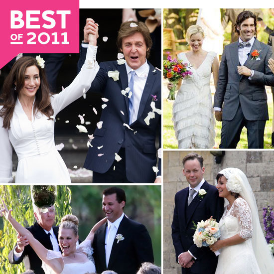 Also, don't forget to vote on your favorite celebrity wedding of 2011 ...
