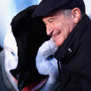 Robin Williams and George Miller Pictures at Happy Feet 2 Sydney Premiere