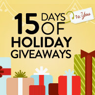 Enter Our Amazing 15 Days of Holiday Giveaways Now!