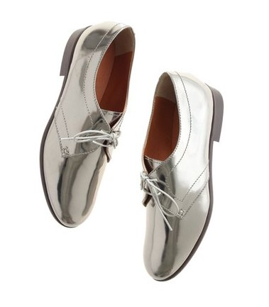 Madewell Metallic Tap Oxford