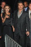 Angelina Jolie and Brad Pitt celebrated her directorial debut, In the Land of Blood and Honey, in NYC.