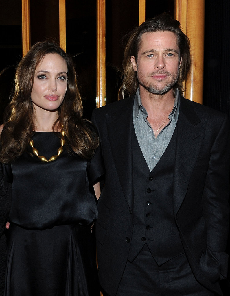 Angelina Jolie and Brad Pitt at the Top of the Standard.