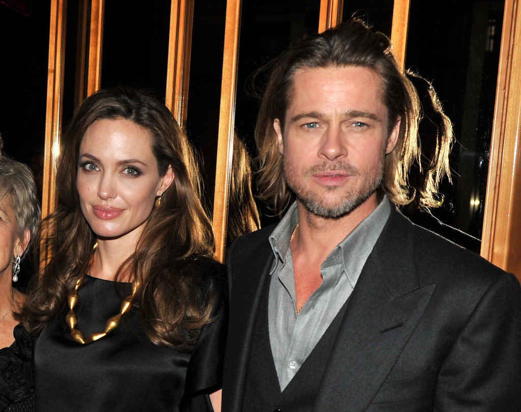 Angelina Jolie and Brad Pitt had a night out in NYC.