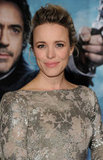 Rachel McAdams Has a Wintry Marchesa Moment at Sherlock Holmes Premiere