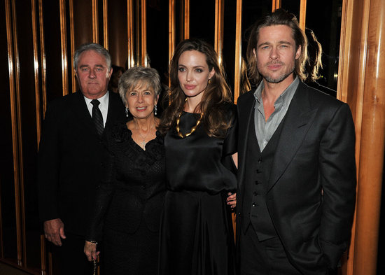 Angelina Jolie Celebrates Her Film at an Afterparty With Brad, Bill, and Jane Pitt