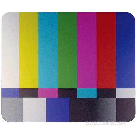 TV test screen mouse pad ($6) 5 Mouse Pads to Brighten Up Your Desk POPSUGAR Tech - Diy Ideas Home Decor