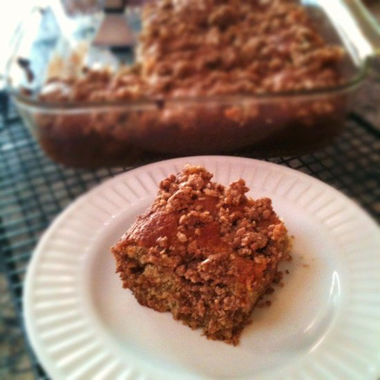 Banana-Maple Crumb Coffee Cake Recipe
