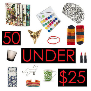 Cheap Stylish Gifts $25 and Under For Holiday 2011