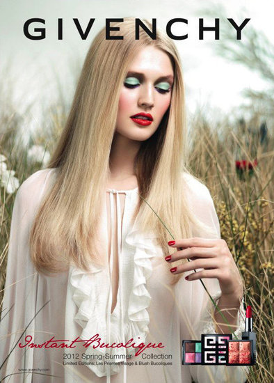 Givenchy Beauty Spring 2012 Ad Campaign