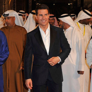 Tom Cruise Premieres Mission: Impossible Ghost Protocol UAE