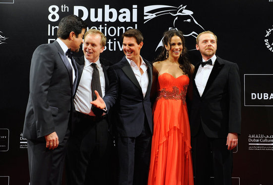 Tom Cruise Accomplishes a Red-Carpet Mission at the Dubai Film Festival