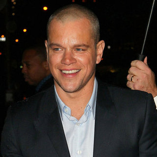 Matt Damon on Late Show With David Letterman