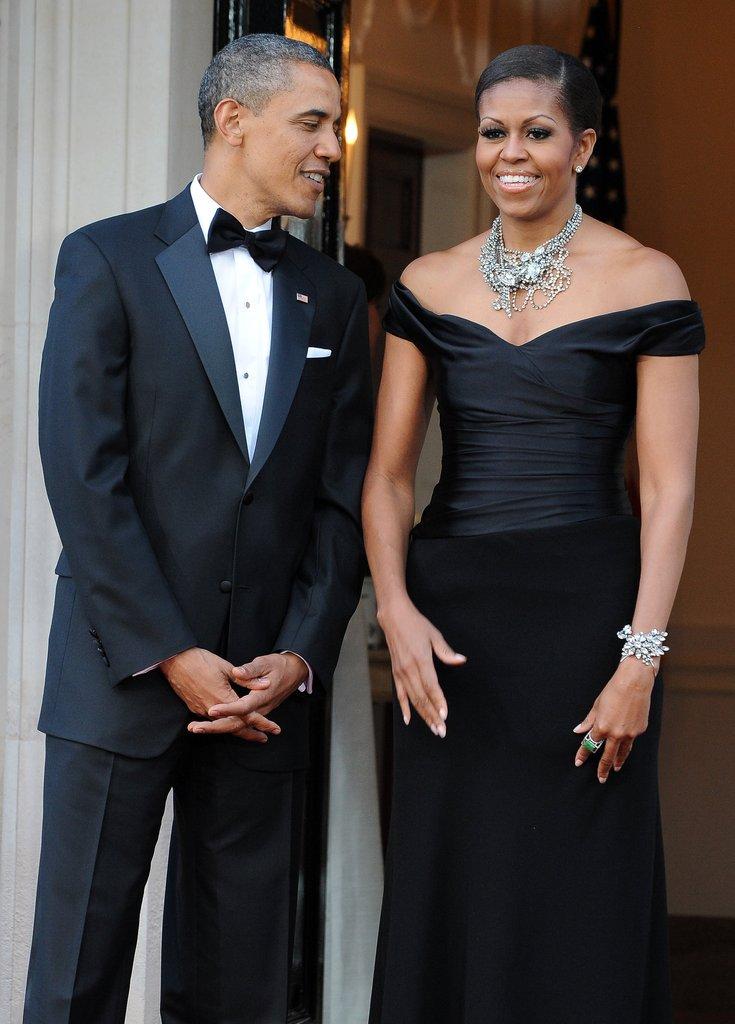 Barack liked what he saw.
