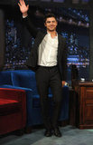 Zac Efron promoted his new film, New Year's Eve on Late Night With Jimmy Fallon.