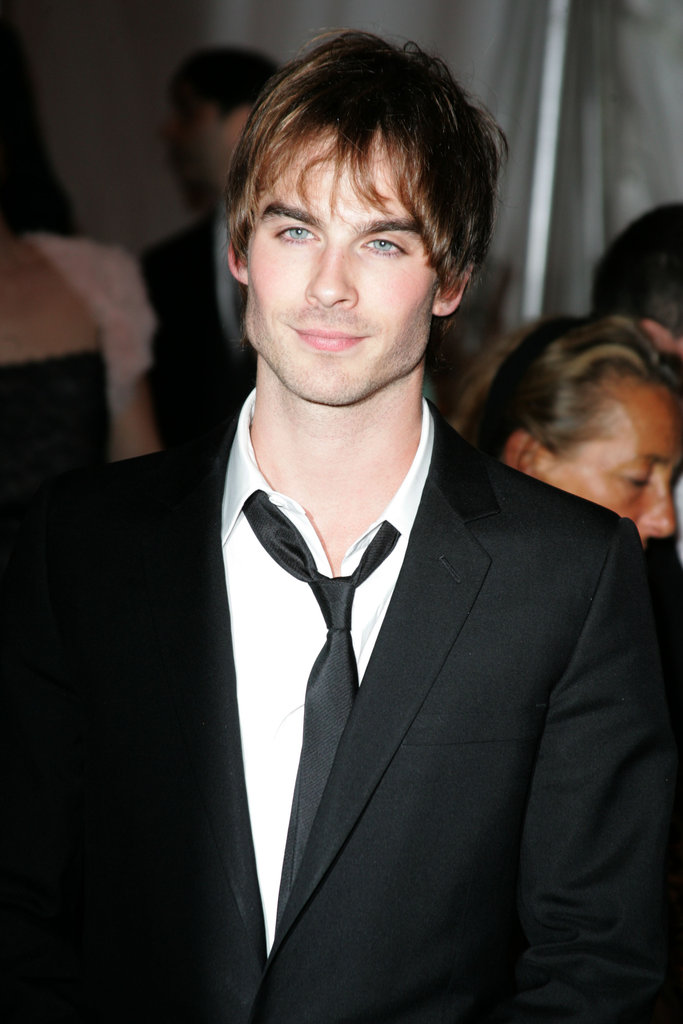 A fresh-faced Ian Somerhalder  was one of the lucky stars in attendance at the May 2005 Met Gala in NYC.