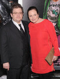 Patton Oswalt brought his wife Michelle to the red carpet.