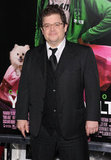 Patton Oswalt wore a three-piece suit.