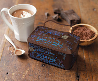 Chocolat Chaud Gift Tins - Pantry - Kitchen &amp; Cooking - NapaStyle