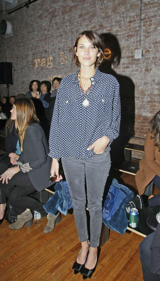In Love With . . . Alexa Chung's Sweet Bow-Adorned Pumps