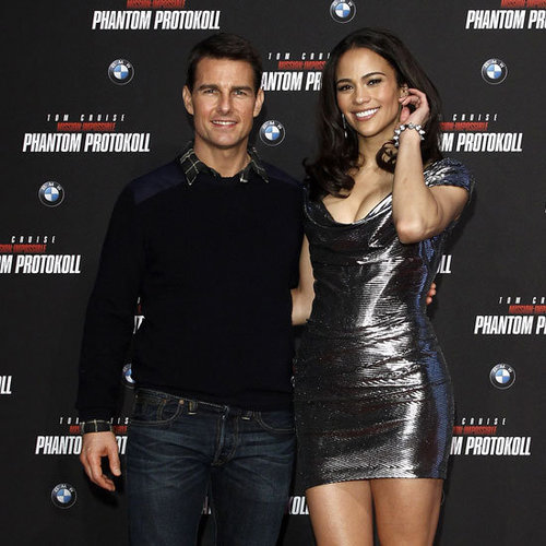 Tom Cruise and Paula Patton in Munich Pictures