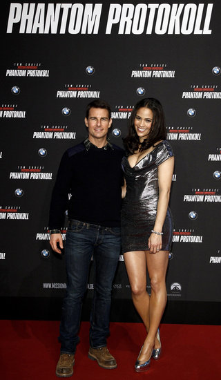Tom Cruise and Paula Patton Pop Up in Munich For MI4