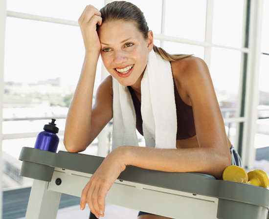 Happy Treadmill Runner