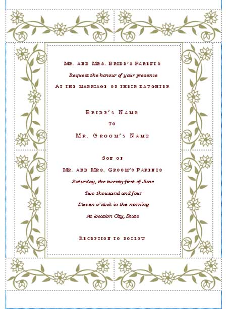 wedding invitations templates trends
