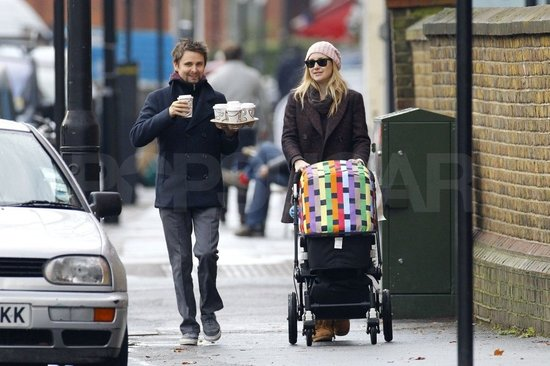 Kate Hudson and Matthew Bellamy grabbed coffee in London.