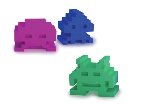 Space Intruders Eraser Set ($2.50)