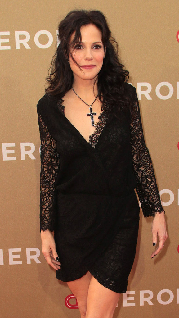 Mary-Louise Parker was one of the many famous faces in attendance at CNN's all-star tribute.