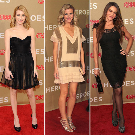 Brooklyn, Sofia, Miley, Emma, and More Show Their Support at CNN's Heroes Tribute