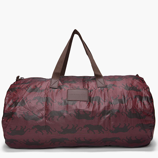 Panther Print Duffle Bag ($63)