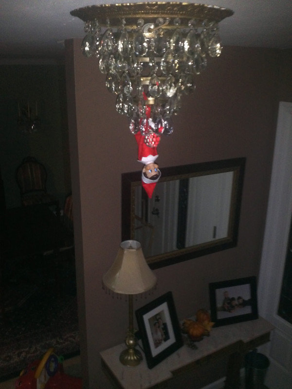 Upside Down Elf