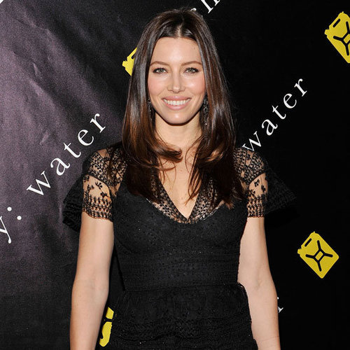 Jessica Biel Pictures in Valentino at 2011 Charity: Ball