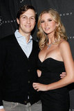 Ivanka Trump hugged her husband Jared Kushner.