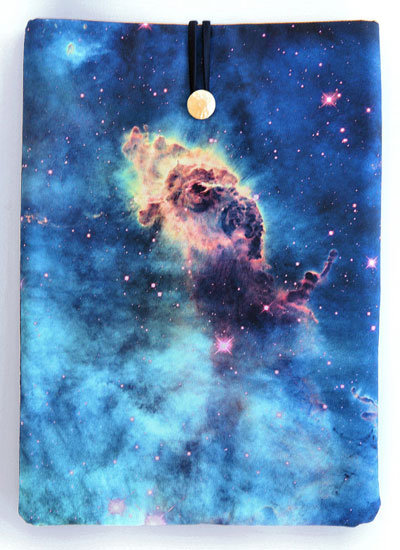 "Padded  MacBook 13"" cover of the Carina Nebula ($32)"