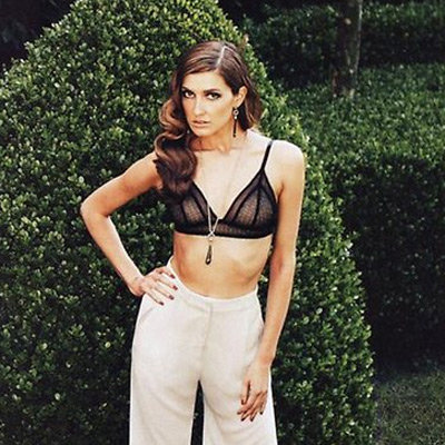 Kate Waterhouse Poses in a Bra in Men's Style Magazine