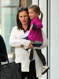 Jennifer Garner and Seraphina had a laugh in LA.