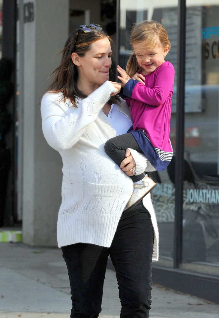 Jennifer Garner and Seraphina Are a Tickled-Pink Pair in LA