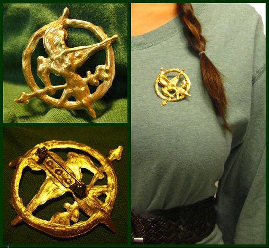 Hunger Games Mockingjay Pin ($7)