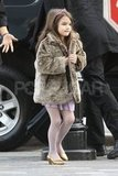 Suri Cruise wore a tiara around NYC.