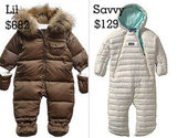 Cute Snowsuits