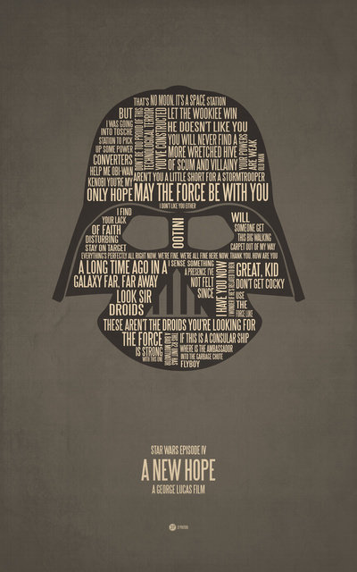 Star Wars Episode IV Posters ($17)