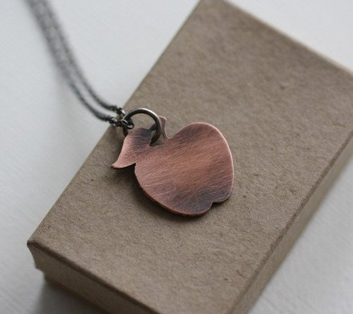 Little Apple Necklace