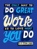 RIP Steve Jobs Poster
